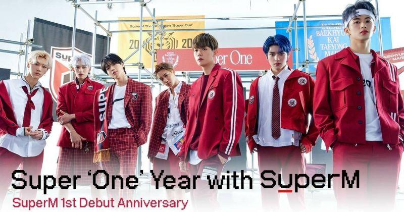 SuperM 庆祝出道满周年!首度公开表演〈Wish You Were Here〉