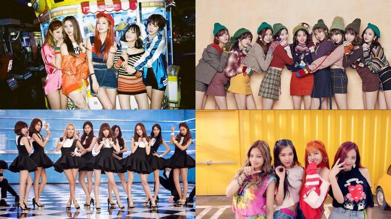 全世界觀看率最高的韓國女團熱門歌曲TOP5,你絕對會忍不住跟著舞動~!