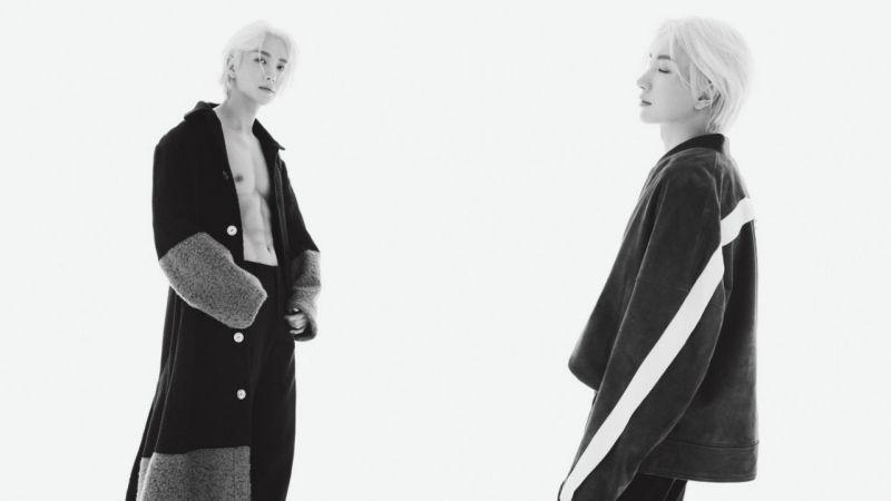 「又一養眼系列~」快看Super Junior利特最新出爐的時尚大片:那巧克力腹肌太性感!