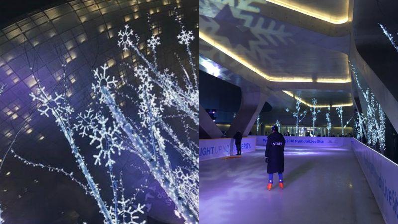 【首爾景點】抓住冬天的尾巴!想溜冰的話東大門就有囉