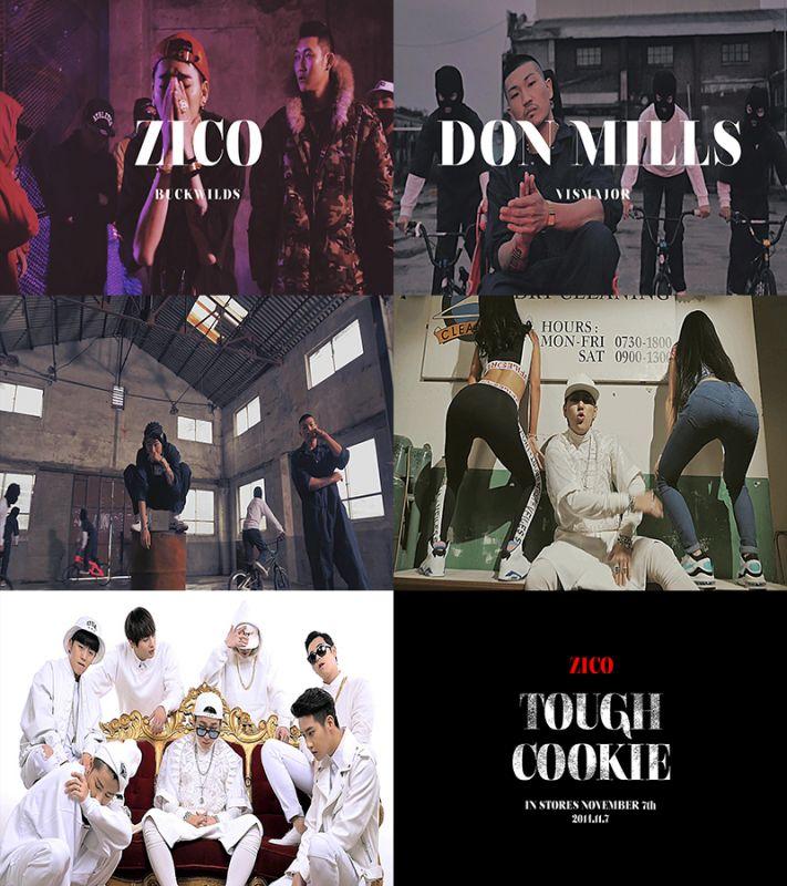 Block B隊長Zico曝單飛新曲《Tough Cookie》預告片