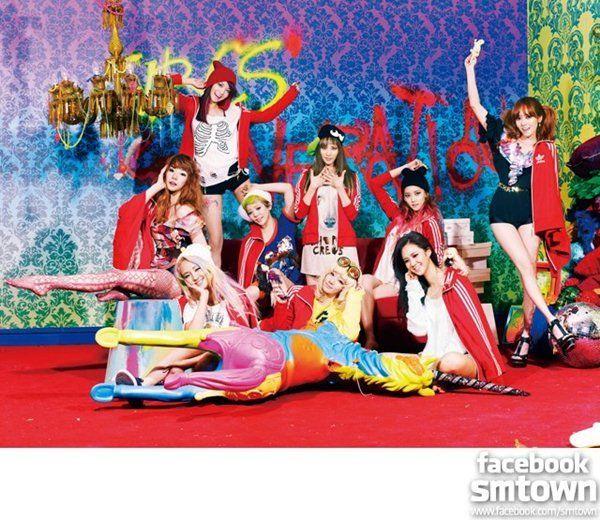少女時代出席亞洲流行音樂節2013