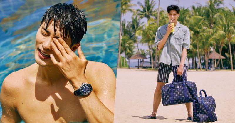 成勋新加坡海滩写真公开:自认还不是《我独自生活》正式彩虹会员!?
