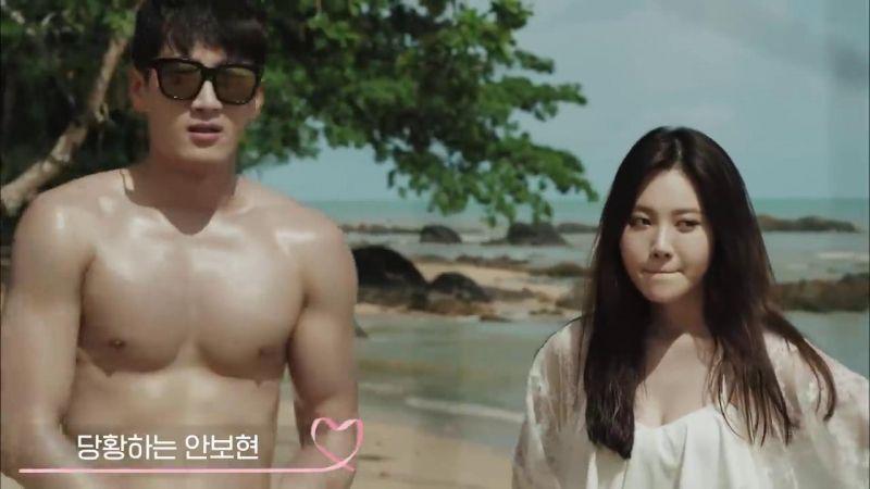 安普賢曾和Yura演過火熱kiss戲❤ 太適合浪漫愛情劇了!