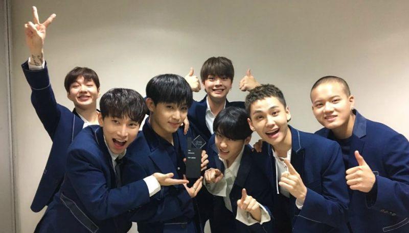 出道後第一次!BTOB 今日在《人氣歌謠》奪冠