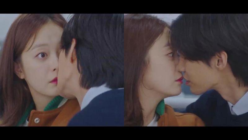 新剧《大数据恋爱》宋再临X全昭旻预告就 KISS!那正片会有多甜~?