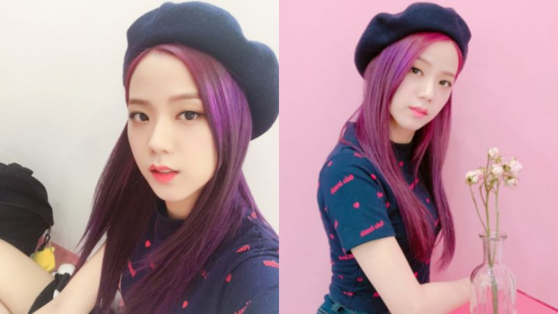 回味 BLACKPINK Jisoo 的紫髮時期 電器安全歌幕後照美得宛如畫報!