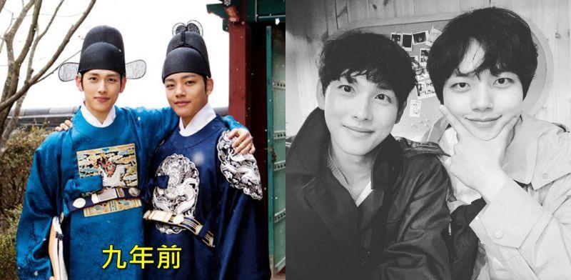 《拥抱太阳的月亮》任时完分享和吕珍九的「师生」合照,在《带轮子的家2》重逢!