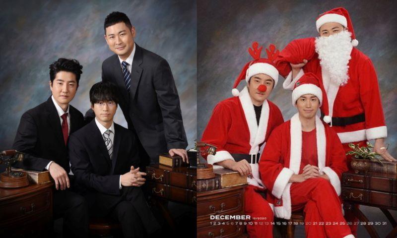 是家族合照嗎? Epik High官方周邊月曆也太有梗XD
