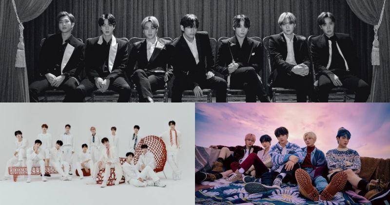 BTS防弹少年团在日本《金唱片大奖》夺 8 冠!SEVETNEEN、TXT 也榜上有名