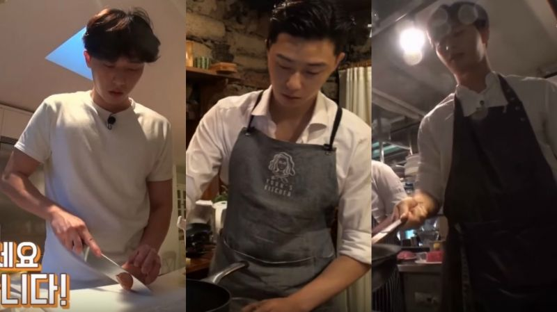 《尹食堂2》導演版也精采!朴敘俊料理實力公開 切菜、炒菜到煮義大利麵 通通難不倒他