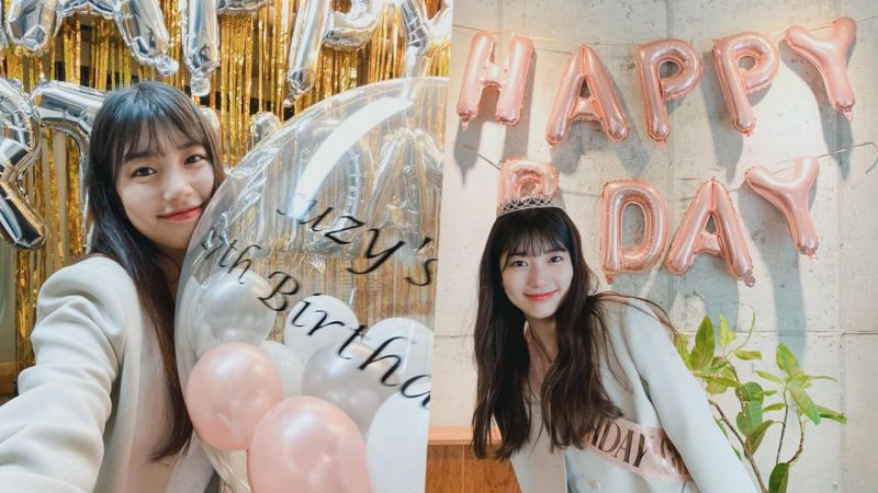 【多圖】秀智生日照片公開:「一大早就是驚喜派對!」