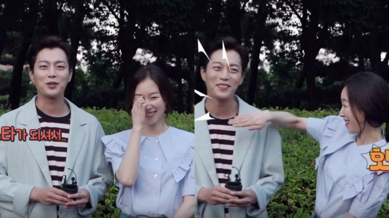 《一起吃飯吧3》花絮:尹斗俊對許久未見的徐玄振這樣說…姐姐馬上給他一記手刀XD