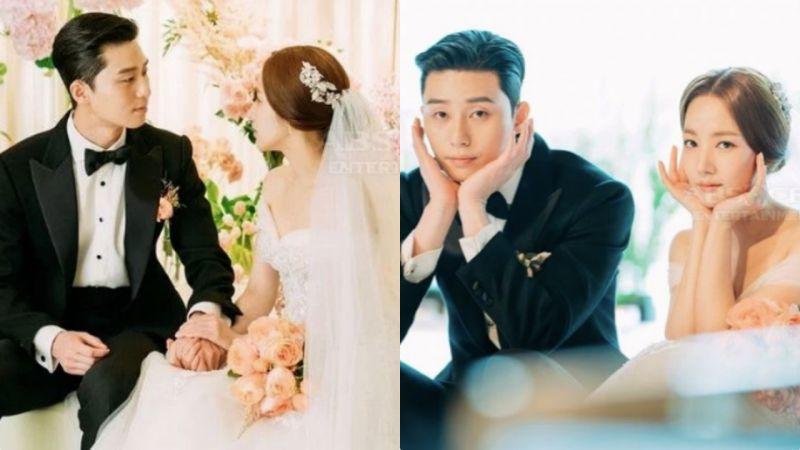 殺青3個月的《金秘書為何那樣》曝光一大波未公開婚禮照:這是王子公主結婚現場吧!