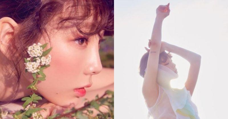 太妍《My Voice》豪華版的主打歌是POP R&B風格! 新照片太美啦!
