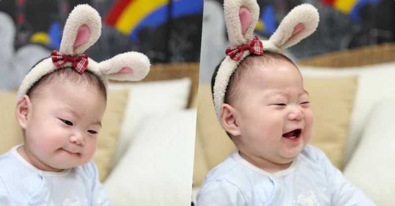 這隻萌萌的小兔子是誰呢?蘋果臉蛋好想咬一口