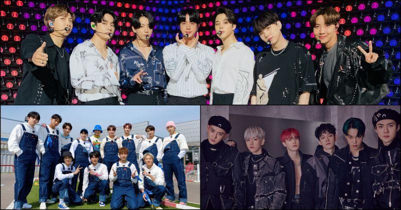 【男團品牌評價】BTS防彈少年團評價指數再度飆高 SEVENTEEN、EXO 分獲二、三名