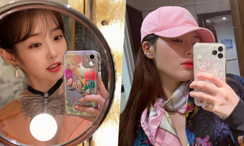 「真正的閃閃惹人愛~」IU&泫雅&Rosé&吳漣序都在用的「迪士尼手機殼」♥