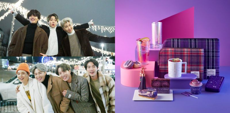 「BTS X Starbucks」於1/21开始:Army请准备好你们的钱包!