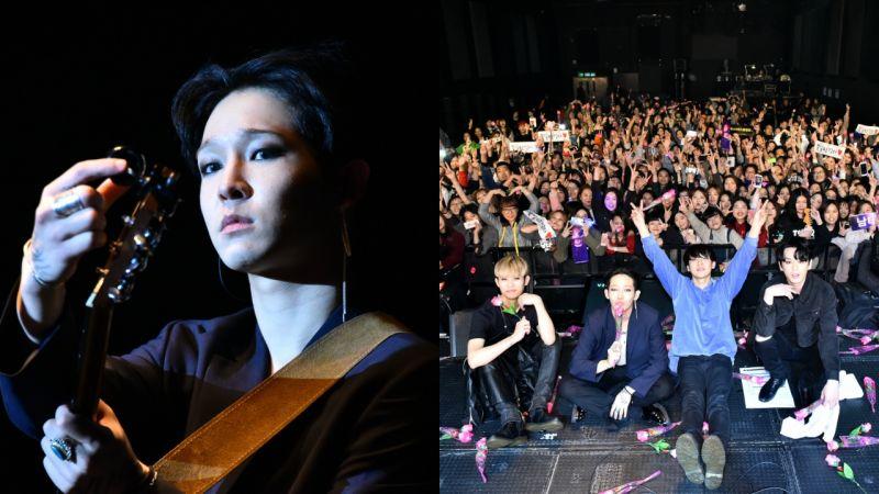 【多圖】South Club完美完成首個香港演唱會 南太鉉更大方送出結他給台下粉絲~