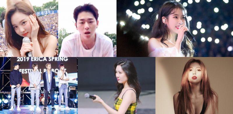 你們知道韓國大學慶典舉辦一次要花多少錢嗎?哪一組合/歌手今年演出費最貴?