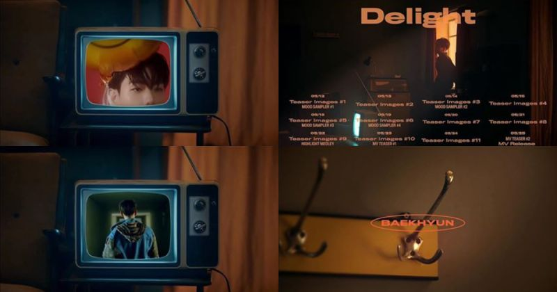 EXO 伯贤新专辑〈Delight〉即将来袭 丰富的预热行程全面公开!