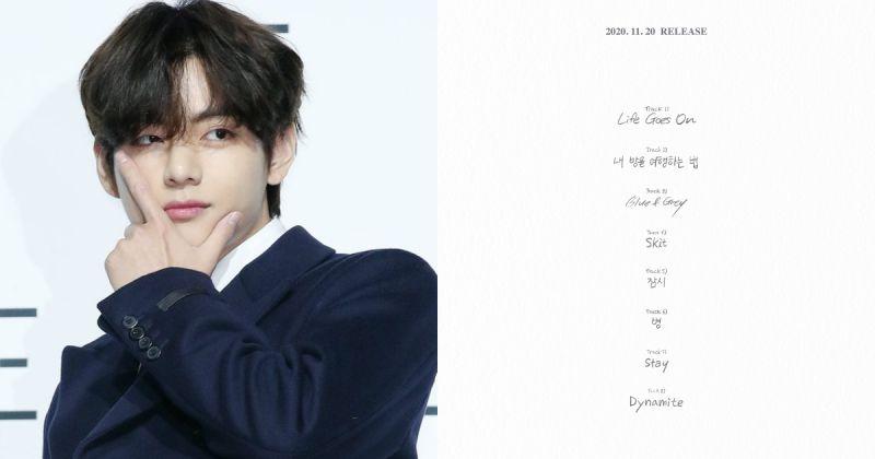 V 自创曲〈Blue & Grey〉大获好评 缔造BTS防弹少年团非主打歌新纪录!