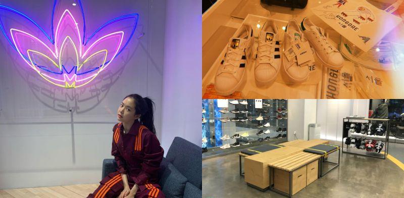 弘大逛街新选择:在Adidas Hongdae客制化你专属的小白鞋!