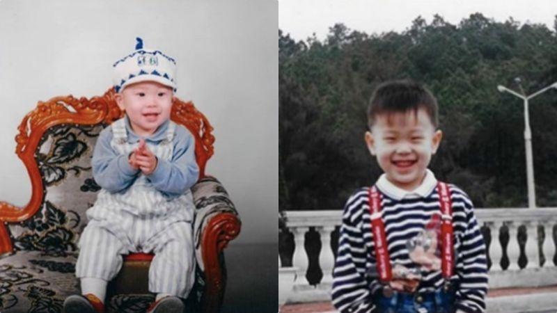 最红爱豆综艺新星曝光幼年照,第一眼就能认出是他!