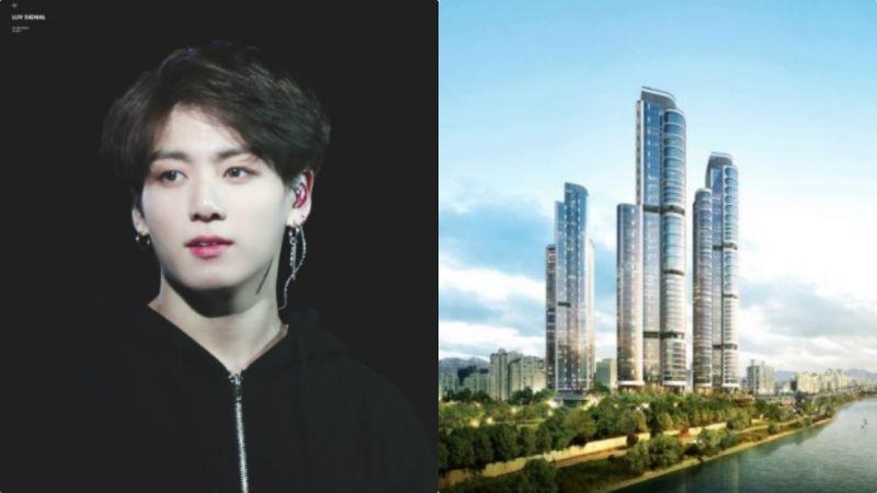 有钱就要买房! BTS防弹少年团柾国入住「爱豆之城」,和J-HOPE&Sunny当邻居