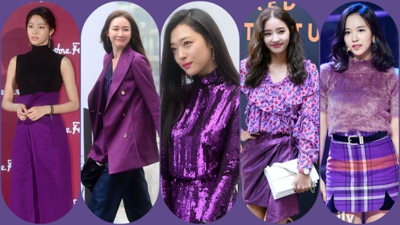 2018年度色Ultra Violet紫外光色要怎麼穿才夠潮?