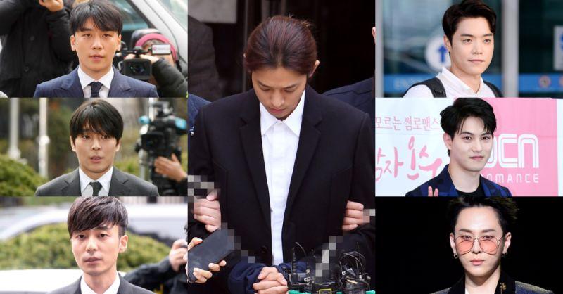 郑俊英聊天室7人全部接受警方调查完毕:5人被立案,李宗泫&龙俊亨无嫌疑