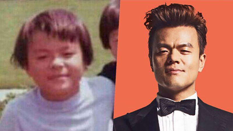 一模一样!JYP朴轸永童年照片公开 毫无改变「纯天然认证」