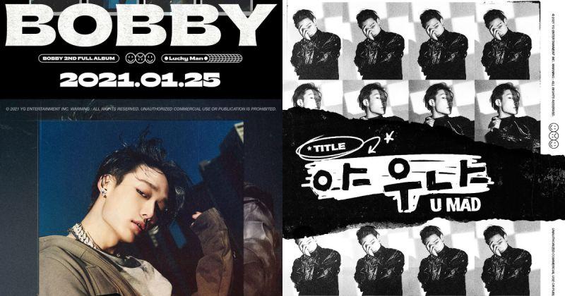 Bobby 回归倒数三天!最新主打歌〈U MAD〉MV 放荡不羁