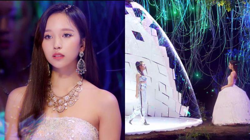 TWICE《Feel Special》MV中成員「兩兩組隊」,MINA彩瑛的對視令粉絲動容TT