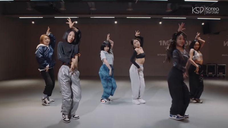 人氣女團 MAMAMOO 與知名舞蹈老師 LIA KIM 的火辣精彩合作影片!