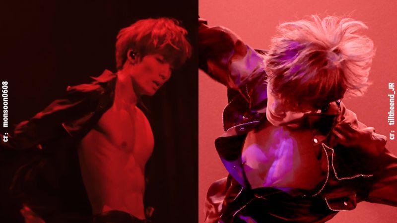 NU'EST JR金钟炫令人血脉喷张的性感身材:胸肌和腹肌太诱人!