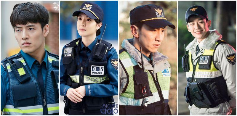 这套巡警制服谁穿起来比他/她们帅又美?近三年来韩剧中的警察们!