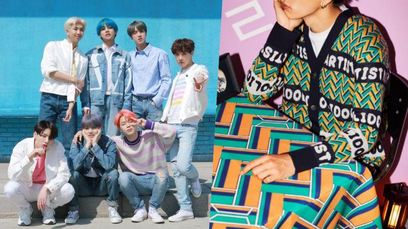 现代百货时装品牌与BTS防弹少年团的第三次合作来了!19件新款以《IDOL》MV为灵感,为合作画上句点