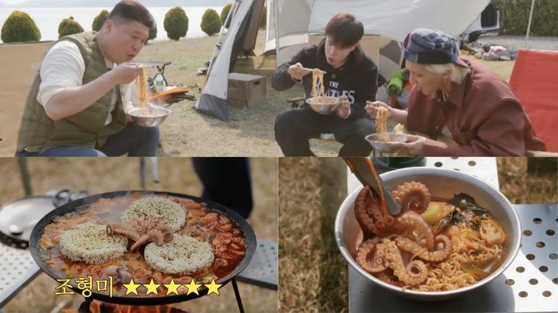 小心说话!《Spring Camp》姜镐童煮的「海鲜辣汤面」获弟弟们好评,罗PD:「下次要拍《姜饭店》」