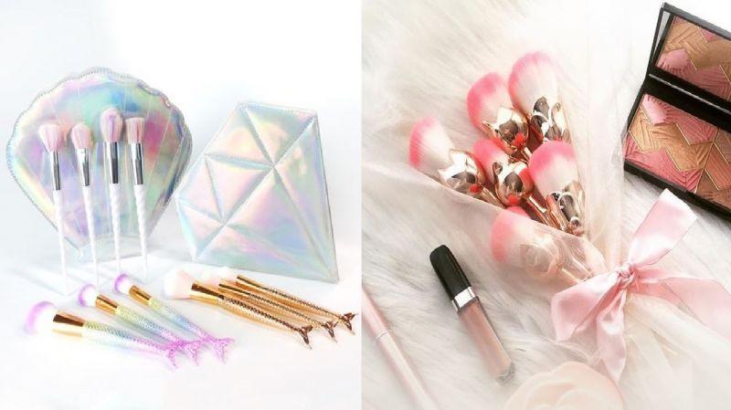 超夢幻彩妝刷具又來了,這次要當美人魚還是捧花少女呢