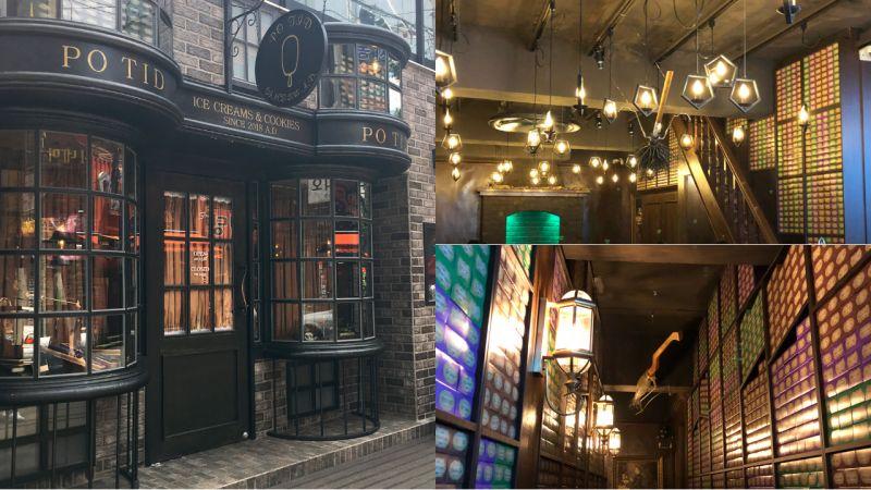 哈利波特迷必去!釜山这一家咖啡厅,里面的设计几乎与电影中的场景几乎一模一样!