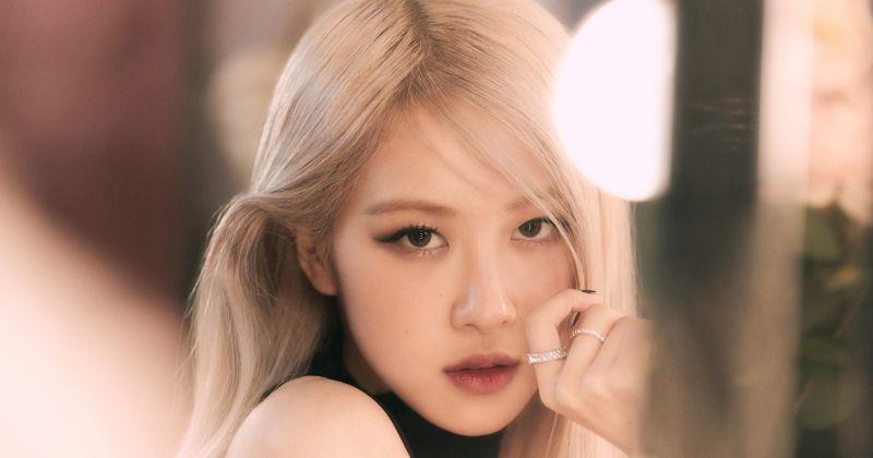 Rosé 首張個人單曲銷量破 50 萬張!寫下時隔 19 年的韓個人女歌手新紀錄