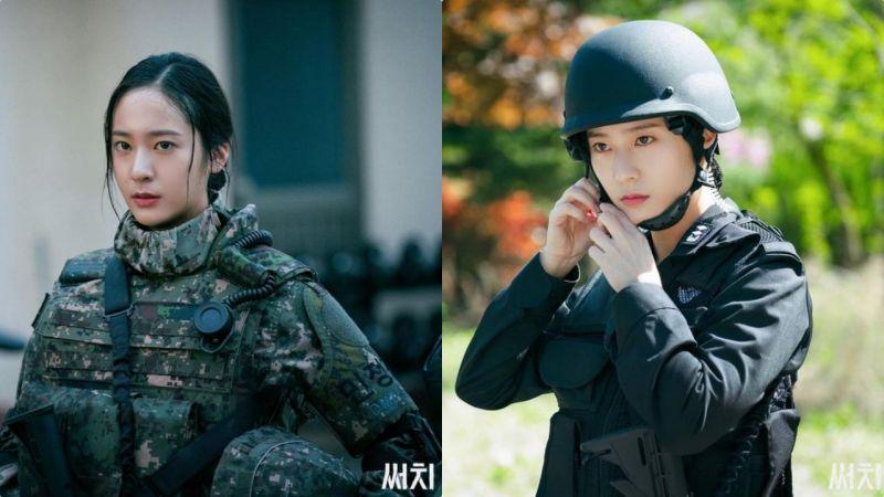 《Search》军装Krystal又美又帅:这角色的感觉可跟《太阳的后裔》「尹明珠」有一拼!
