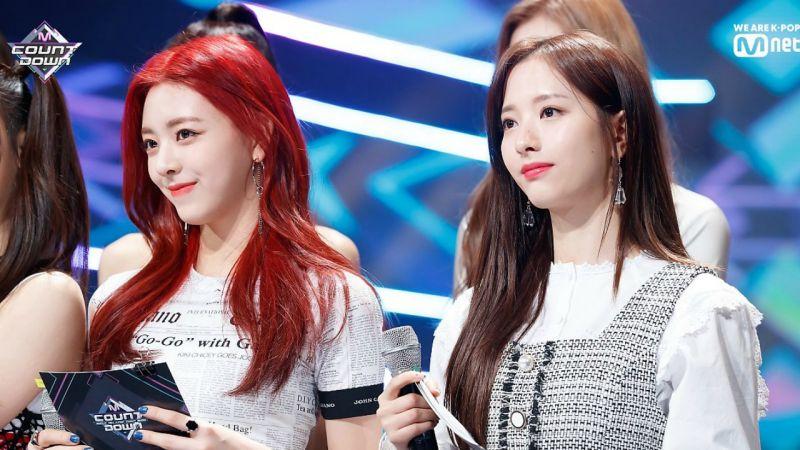 ITZY Yuna和宇宙少女苞娜顏值出眾,網友認為兩人長相神似!