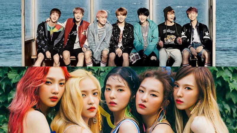 最想和他們來一場春日約會的偶像是誰呢?防彈少年團、Red Velvet 雀屏中選!