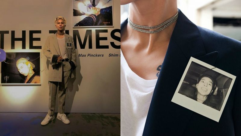 宋旻浩將拍立得相片當配飾的獨特時尚感,WINNER其他成員也跟著學呢!