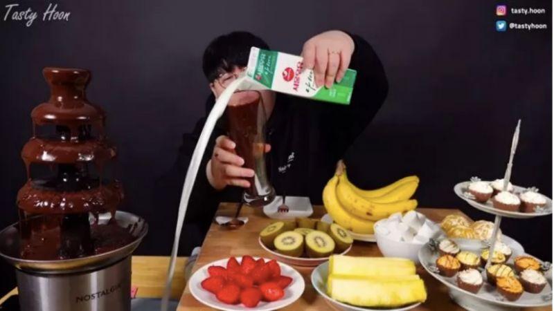 那個被「芝士噴泉」打臉的韓國Youtuber又翻車了XD 這一次綜藝之神光顧了他兩次!