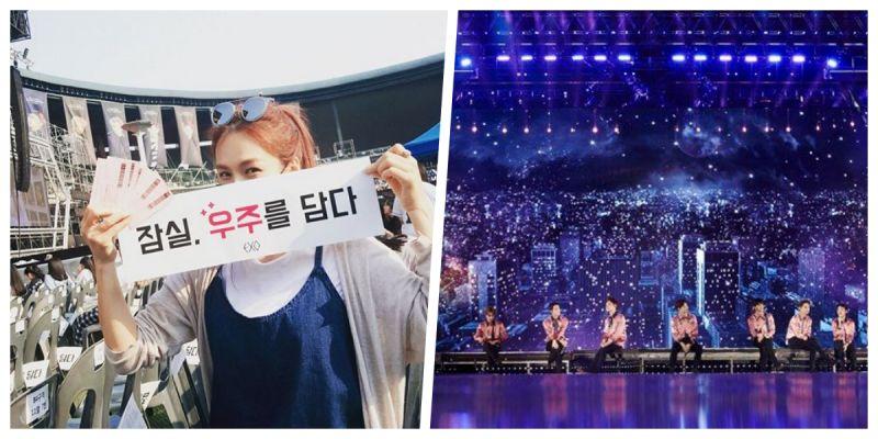蔡妍看了一場EXO的演唱會卻被罵?網民:粉絲管太多