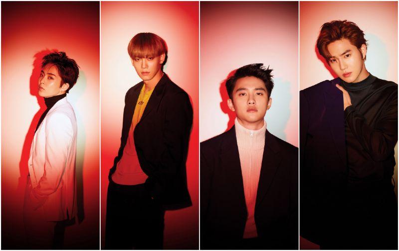 回归迫近 EXO公开最后两组预告照